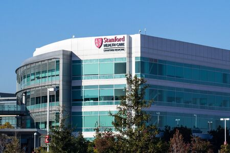 Nov 2, 2019 Redwood City / CA / USA - Stanford Health Care facility; Stanford Health Care comprises a network of medical facilities and doctors located around the San Francisco Bay area Editorial