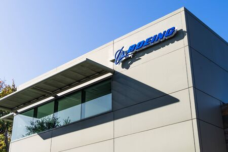 Nov 22, 2019 Menlo Park / CA / USA - Boeing office building housing the subsidiary Aurora Flight Sciences, which designs and develops special-purpose Unmanned aerial vehicles; Silicon Valley