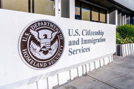 Nov 24, 2019 Santa Clara / CA / USA - U.S. Citizenship and Immigration Services (USCIS) office located in Silicon Valley; USCIS is an agency of the U.S. Department of Homeland Security (DHS)