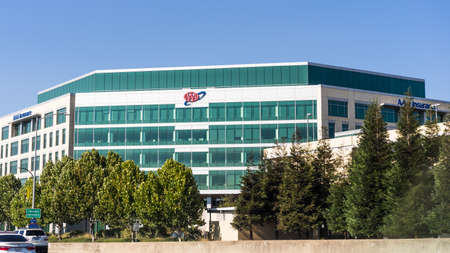 July 25, 2020 Walnut Creek / CA / USA - AAA Northern California, Nevada & Utah corporate headquarters in East San Francisco Bay Area