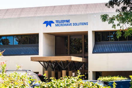 August 3, 2020 Mountain View / CA / USA - Teledyne Microwave Solutions (a member of Teledyne Technologies group) headquarters in Silicon Valley; 新闻类图片