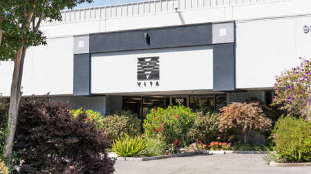 August 3, 2020 Mountain View / CA / USA - Vita headquarters in Silicon Valley; The Vita Companies is an insurance company offering employee benefits brokerage services 新闻类图片