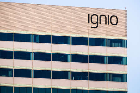 August 9, 2020 Santa Clara / CA / USA - Ignio headquarters in Silicon Valley; Ignio is the cognitive automation solution for IT operations developed by Tata Consultancy Services