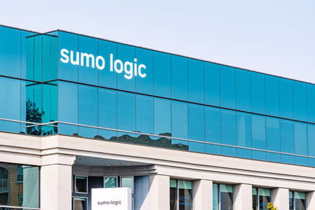 September 15, 2020 Redwood City / CA / USA - Sumo Logic headquarters in Silicon Valley; Sumo Logic is a cloud-based machine data analytics company focusing on security, operations and BI usecases