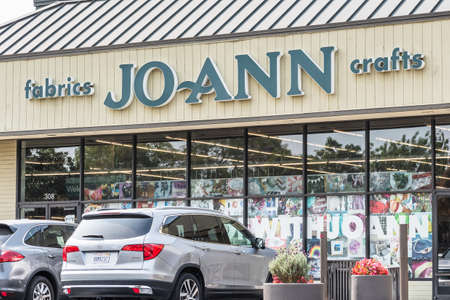September 15, 2020 Redwood City / CA / USA - Jo-Ann store in San Francisco Bay Area; Jo-Ann Stores, Inc. is an American specialty retailer of crafts and fabrics
