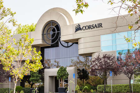 Sep 17, 2020 Fremont / CA / USA - Corsair Gaming headquarters in Silicon Valley; Corsair Gaming, Inc. (formerly Corsair Components, Inc) is an American computer peripherals and hardware company