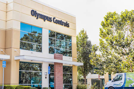 Sep 17, 2020 Fremont / CA / USA - Olympus Controls headquarters in Silicon Valley; Olympus Controls Corporation was acquired by Applied Industrial Technologies in 2019