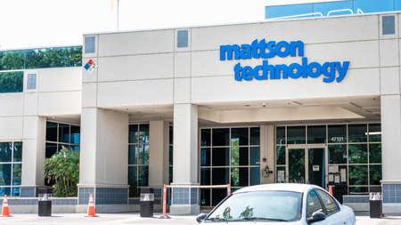 Sep 17, 2020 Fremont / CA / USA - Mattson Technology headquarters in Silicon Valley; Mattson Technology Inc is an American technology company operating in the  semiconductor equipment market 新闻类图片