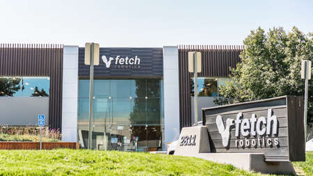 Sep 18, 2020 San Jose / CA / USA - Fetch Robotics headquarters in Silicon Valley; Fetch Robotics Inc. provides industrial automation services Editorial