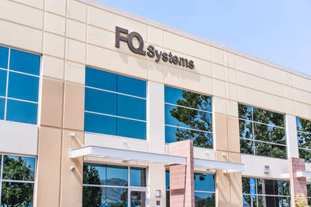 Sep 17, 2020 Fremont / CA / USA - FQ Systems headquarters in Silicon Valley; FQ Systems offers virtualization, server storage and cloud computing services Editorial