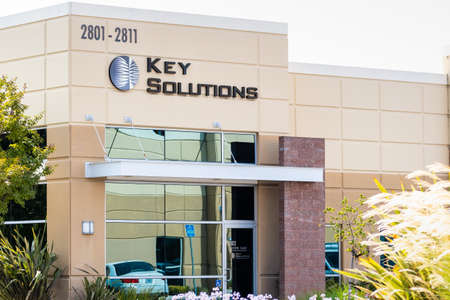 Sep 17, 2020 Fremont / CA / USA - Key Solutions headquarters in Silicon Valley; Key Solutions Inc is providing computer programming services Editorial