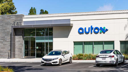Sep 18, 2020 San Jose / CA / USA - AutoX headquarters in Silicon Valley; AutoX, a startup backed by Alibaba, MediaTek and Shanghai Motors, develops autonomous driving technology Editorial