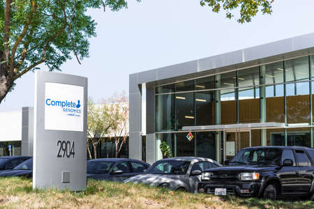 Sep 18, 2020 San Jose / CA / USA - Complete Genomics headquarters in Silicon Valley; Complete Genomics Inc is a life sciences company owned by BGI-Shenzhen that has developed a DNA sequencing platform