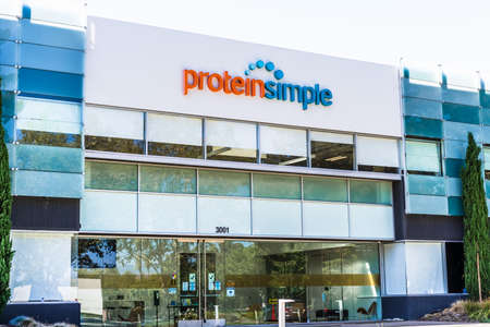 Sep 18, 2020 San Jose / CA / USA - ProteinSimple headquarters in Silicon Valley; ProteinSimple, part of Bio-Techne Corporation, develops instrumentation systems, software, and assay products Editorial
