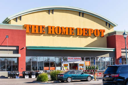 Dec 4, 2020 Antioch  / CA / USA - Home Depot store in San Francisco bay area; The Home Depot, Inc. is the largest home improvement retailer in the USA