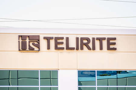 Sep 17, 2020 Fremont / CA / USA - Telirite logo at their headquarters in Silicon Valley; Telirite Technical Services is part of the Semiconductor & Other Electronic Component Manufacturing Industry