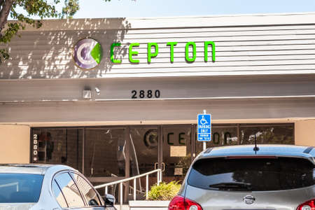 Sep 18, 2020 San Jose / CA / USA - Cepton headquarters in Silicon Valley; Cepton Technologies develops lidar-based solutions for autonomous driving, intelligent traffic systems and other uses