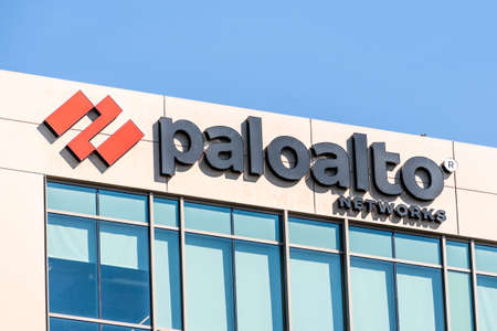 Sep 26, 2020 Santa Clara / CA / USA - Palo Alto Networks logo at their headquarters in Silicon Valley; Palo Alto Networks, Inc. is an American multinational cyber security company
