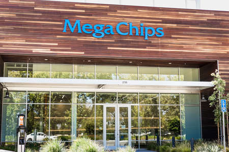 Sep 18, 2020 San Jose / CA / USA - MegaChips headquarters in Silicon Valley; MegaChips Corporation is a Japanese company that provides chip solutions