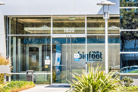 Sep 24, 2020 Milpitas / CA / USA - Bigfoot Biomedical headquarters in Silicon Valley; Bigfoot Biomedical Inc. is a medical technology startup Editorial