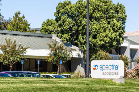 Sep 24, 2020 Milpitas / CA / USA - Spectra Laboratories headquarters in Silicon Valley; Spectra Laboratories Inc, a subsidiary of Fresenius, is a provider of renal-specific laboratory testing services Editorial