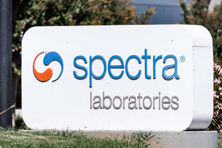 Sep 24, 2020 Milpitas / CA / USA - Spectra Laboratories logo at the Silicon Valley HQ; Spectra Laboratories Inc, a subsidiary of Fresenius, is a provider of renal-specific laboratory testing services Editorial