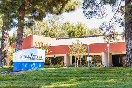Sep 24, 2020 Milpitas / CA / USA - Stellartech headquarters in Silicon Valley; Stellartech Research Corporation develops electronic devices