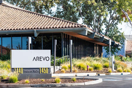 Sep 24, 2020 Milpitas / CA / USA - Arevo headquarters in Silicon Valley; Arevo, Inc. develops 3D printing technology