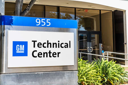 Sep 26, 2020 Sunnyvale / CA / USA - General Motors (GM) Advanced Technical Center located in Silicon Valley;