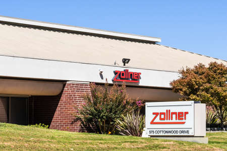 Sep 24, 2020 Milpitas / CA / USA -  Zollner headquarters in Silicon Valley; Zollner Elektronik AG is a service provider in the field of contract manufacturing of electronic components (EMS)