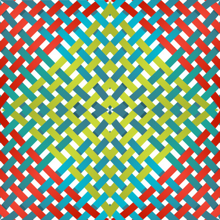 intersecting: Pattern with intersecting lines on a white background. Vector illustration
