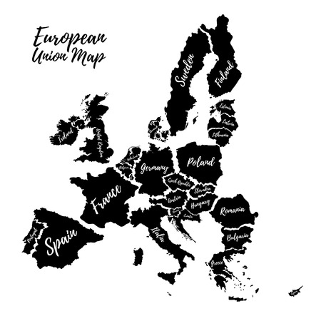 map of netherlands: Poster of the European Union.