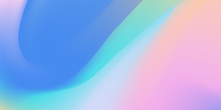 Abstract holographic backdrop 80s, bright colorful background. Trendy colorful holographic wallpaper in pastel neon color design.