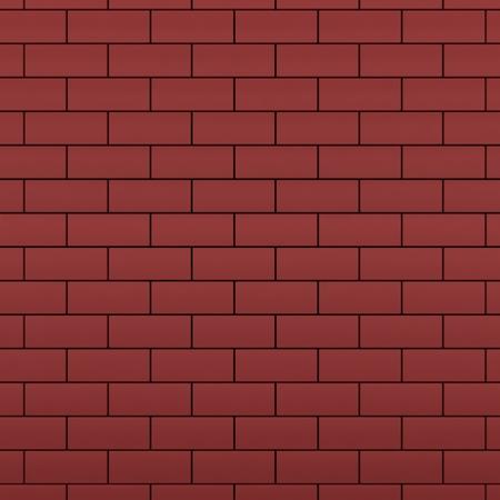 Red brick wall 3d render 版權商用圖片