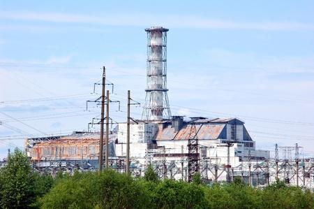 Chernobyl atomic power station, 25 years after catastrophe, reactor 4, Pripyat, Ukraine Stock Photo - 9093251