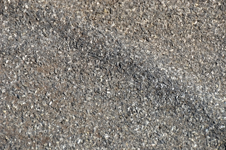 tar felt: Close up of roofing felt, generally used for flat roof  Stock Photo