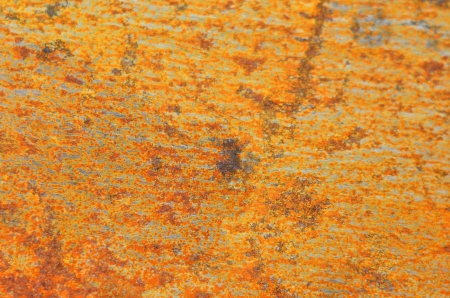 Vintage rusty textured metallic steel background, DOF Stock Photo - 18317742