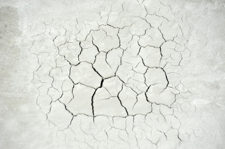 Gray cracked concrete texture background, close up Stock Photo - 21641921