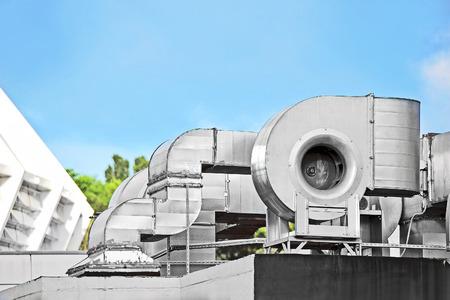 edificio industrial: Aire acondicionado y de ventilación de acero industrial sistemas