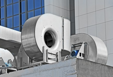 Industrial steel air conditioning and ventilation systems
