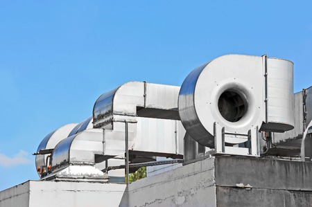 mechanical ventilation: Industrial steel air conditioning and ventilation systems