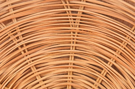 trivet: Wickered dry twig wooden background, close up