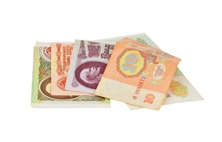 20th century: Old money of disintegrated Soviet Union (USSR), 20th century, 1961-1991