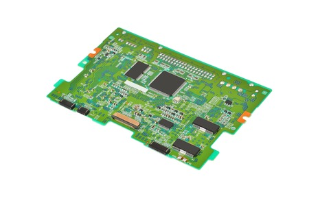 DVD ドライブからコンピューターの印刷回路基板