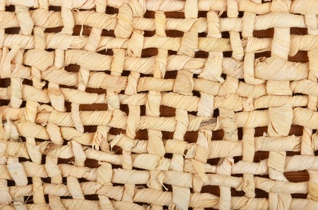haulm: Wickered dry plant wooden background, close up