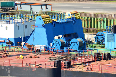 Câble mécanisme de treuil de flotter grue de construction