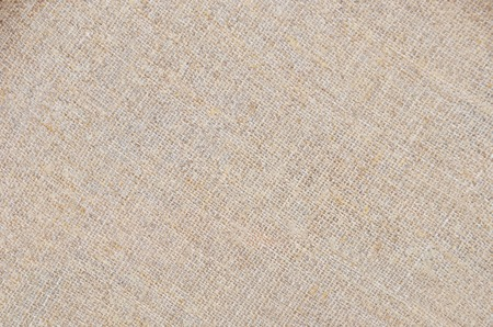 Close-up of canvas fabric cloth textile background