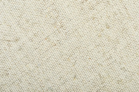 osnaburg: Close-up of canvas textured fabric cloth background