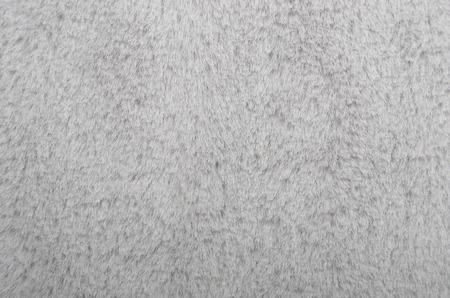 factitious: Close up of gray synthetical fur textured background