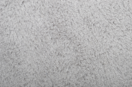 pelage: Close up of gray synthetical fur textured background